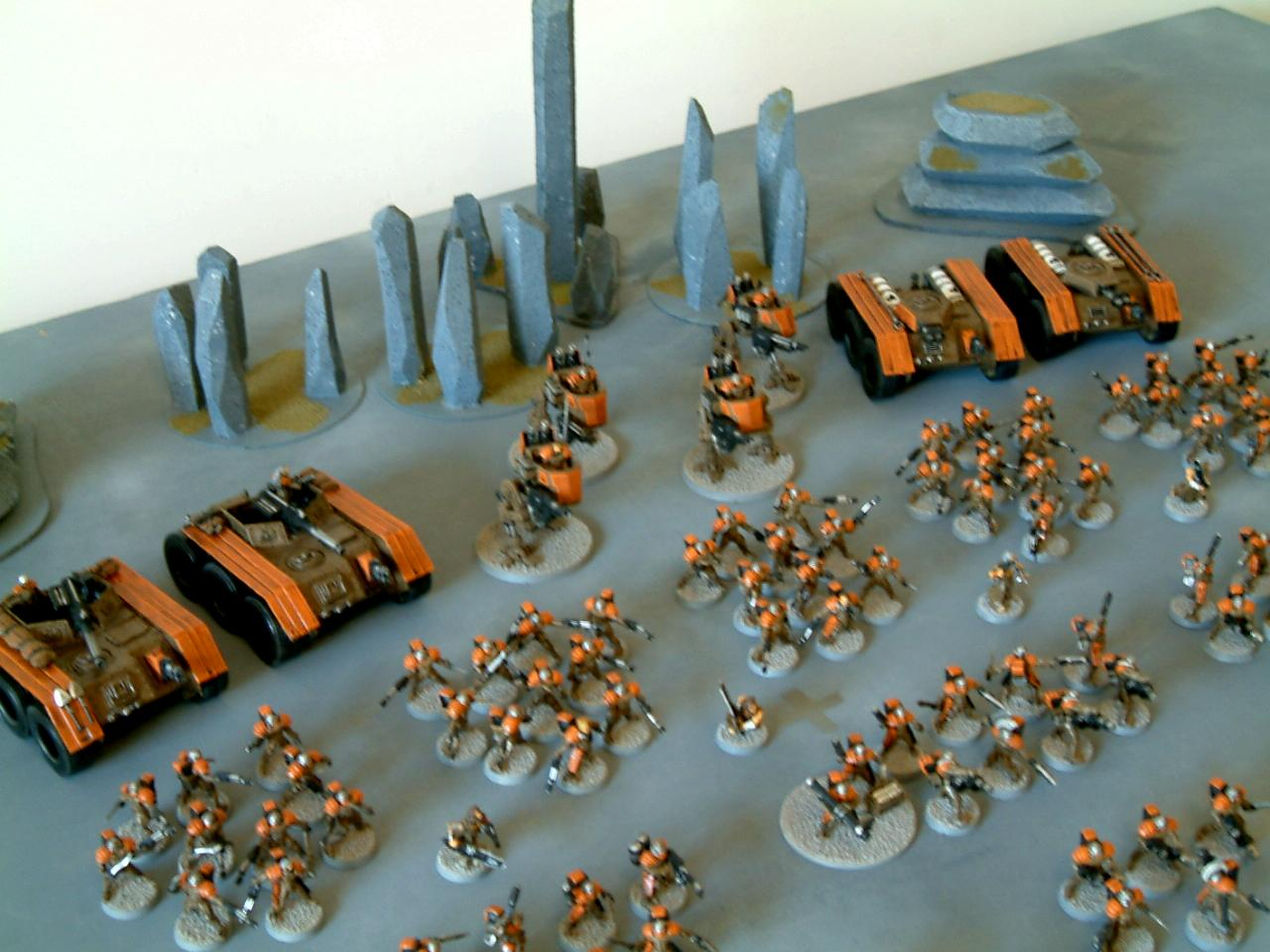 As, Conversion, Counts, Guard, Imperial, Junkers, Legion, Penal, Shotgun, Void