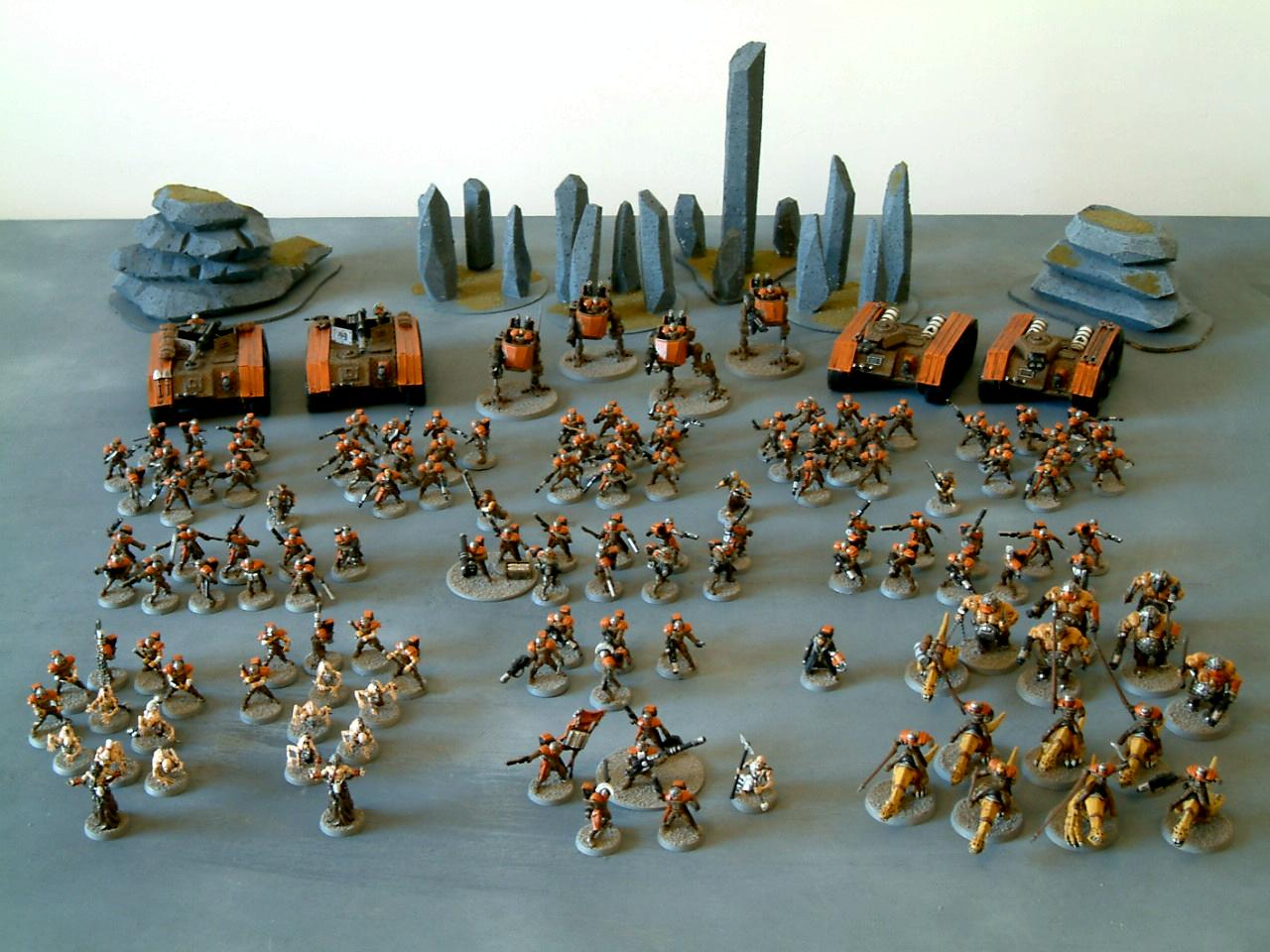 As, Conversion, Counts, Full Army, Guard, Imperial, Imperial Guard, Junkers, Legion, Penal, Penal Legion, Shotgun, Void
