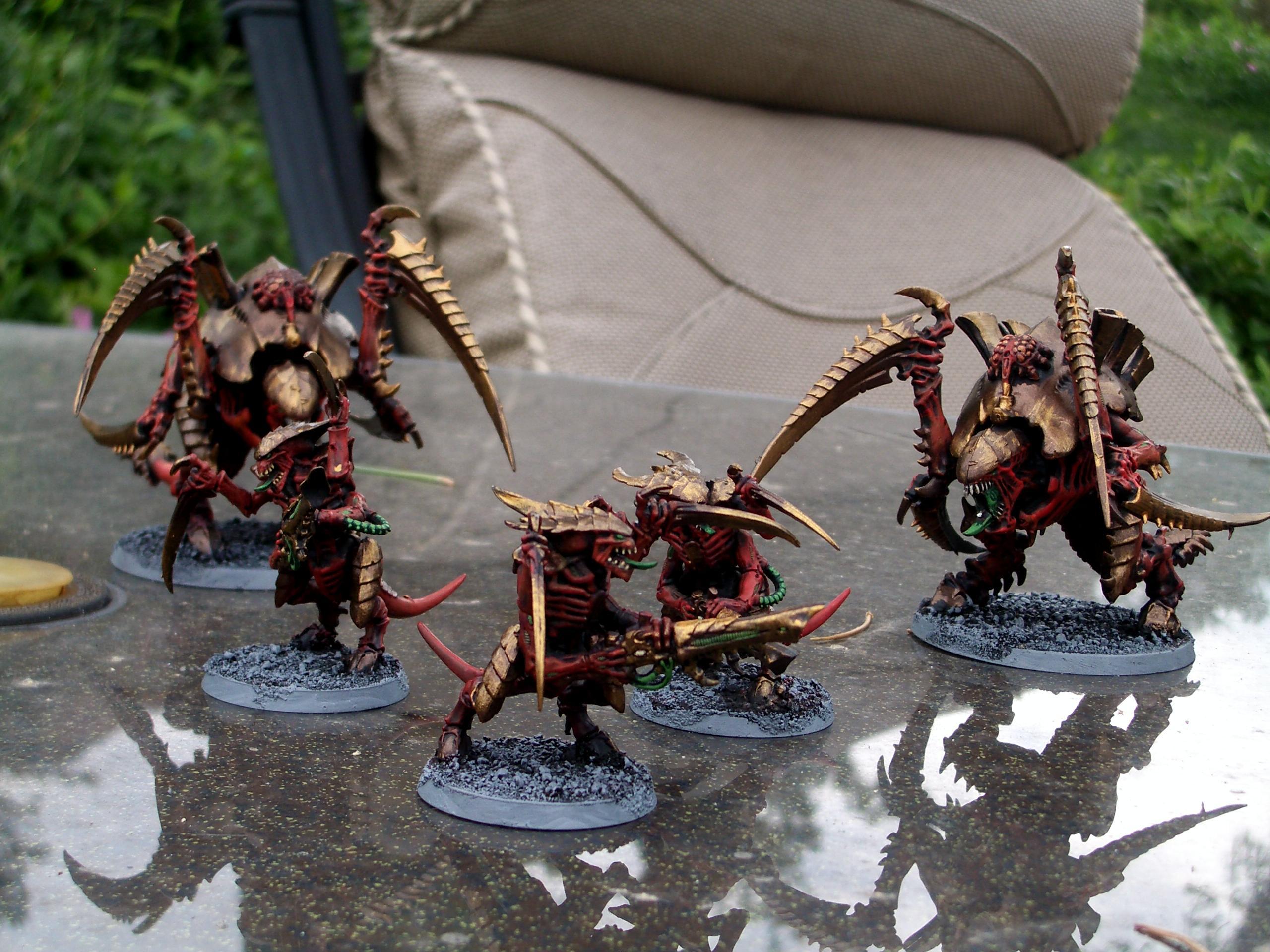 Carnifex, Tyranid Warriors, Tyranids