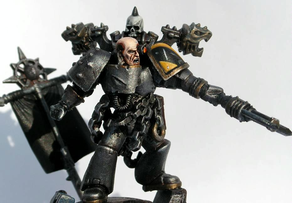 Chaos Lord, Chaos Space Marines, Honsou, Iron Warriors, Warsmith