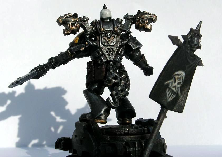 Chaos Lord, Chaos Space Marines, Honsou, Iron Warriors, Warsmith