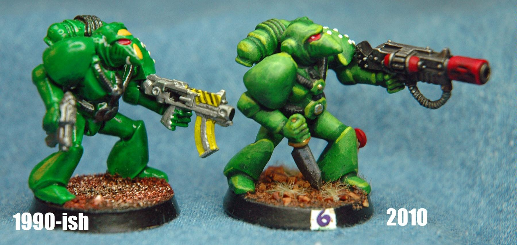 Mantis Warriors, Rogue Trader, Space Marines
