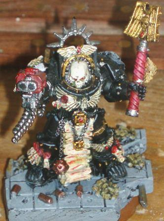Black Templars, BT chaplain in Terminator Armour