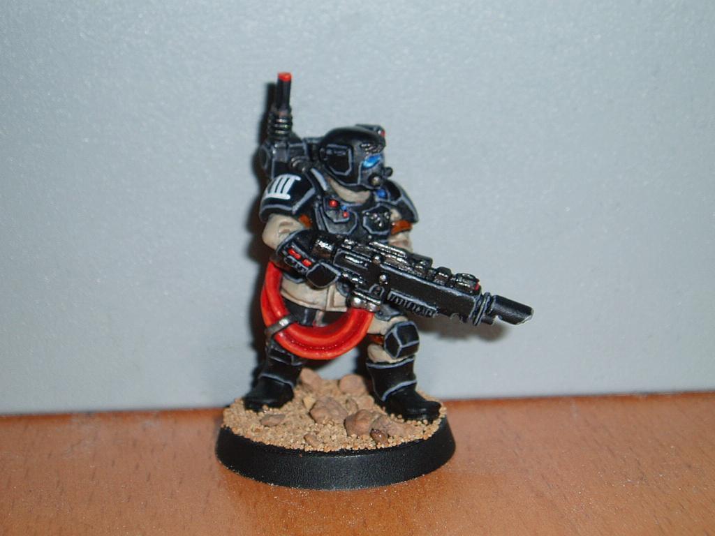 Carapace, Hellgun, Imperial Guard, Kasrkin, Storm Troopers, Veteran