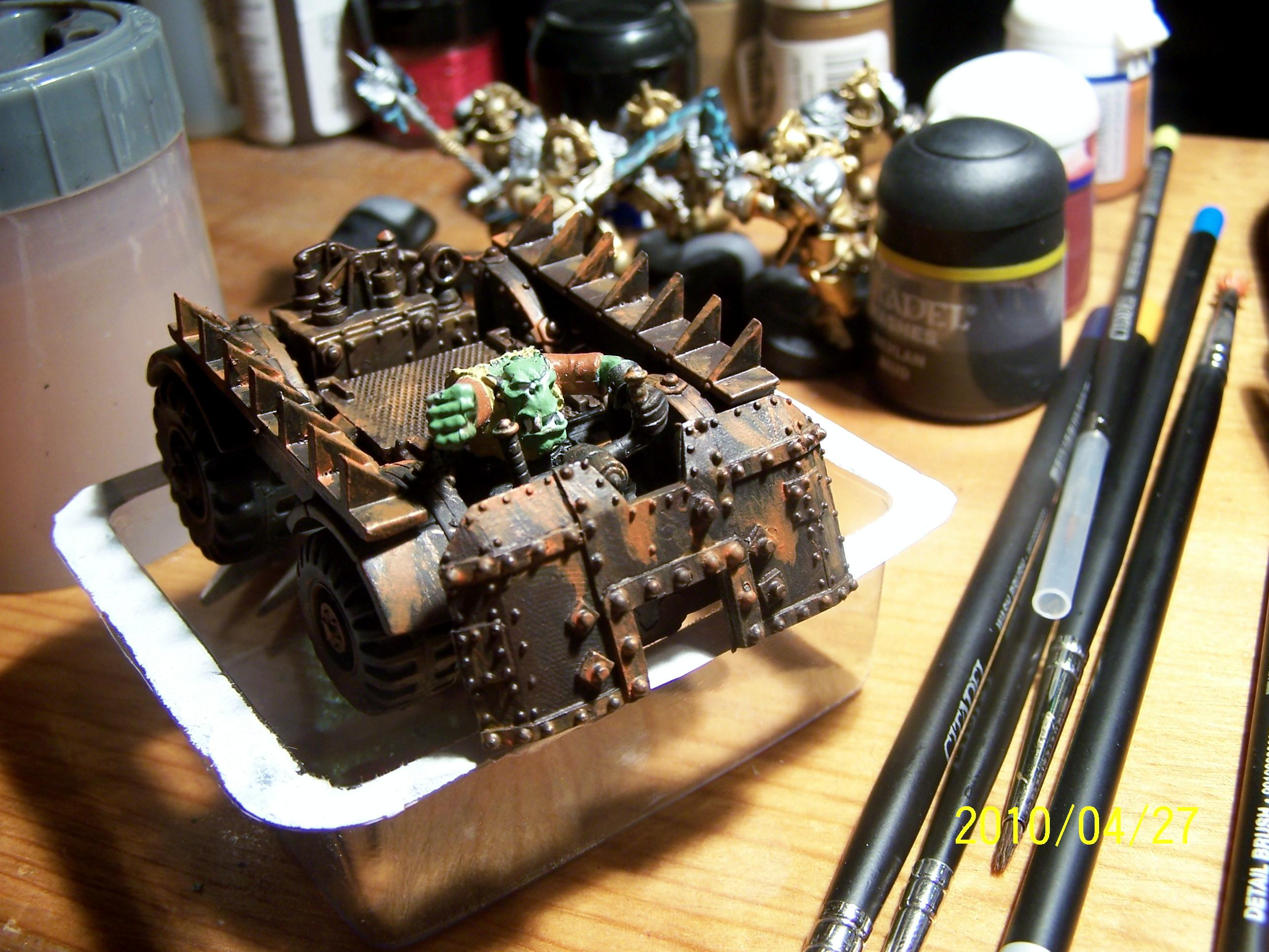 2nd Edition, Orks, Rehab, Warbuggy