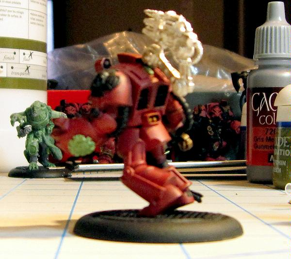 Brother Omnio Becomes A Techmarine