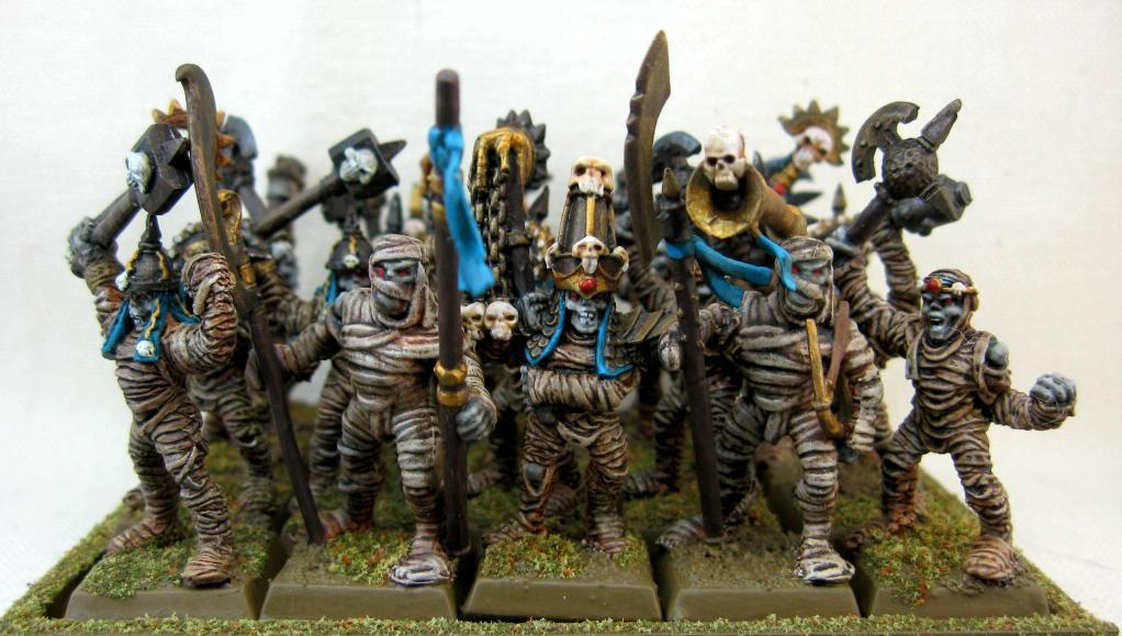 Mummies, Undead, Vampire Counts