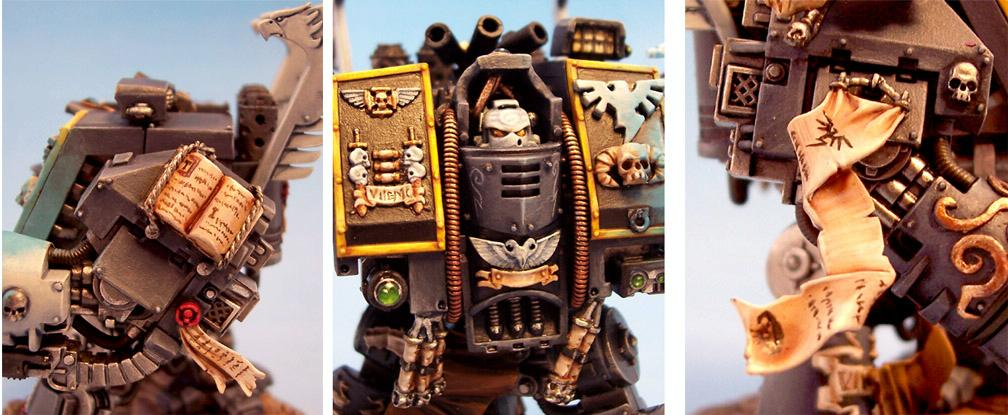 Dreadnought, Librarian, Librarian Dreadnought, Object Source Lighting, Warhammer 40,000