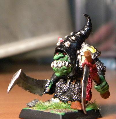 Battle, Goblins, Night, Pass, Skull