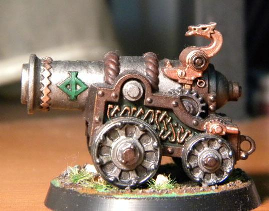 Cannon, Dwarves, Pass, Skull