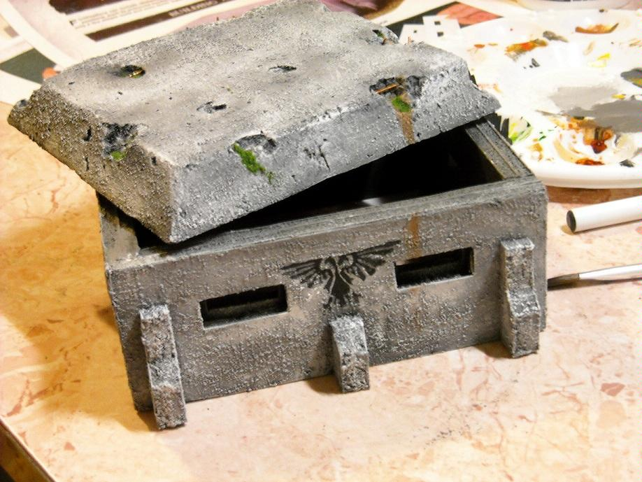 Bunker, Imperial Guard, Space Marines, Terrain
