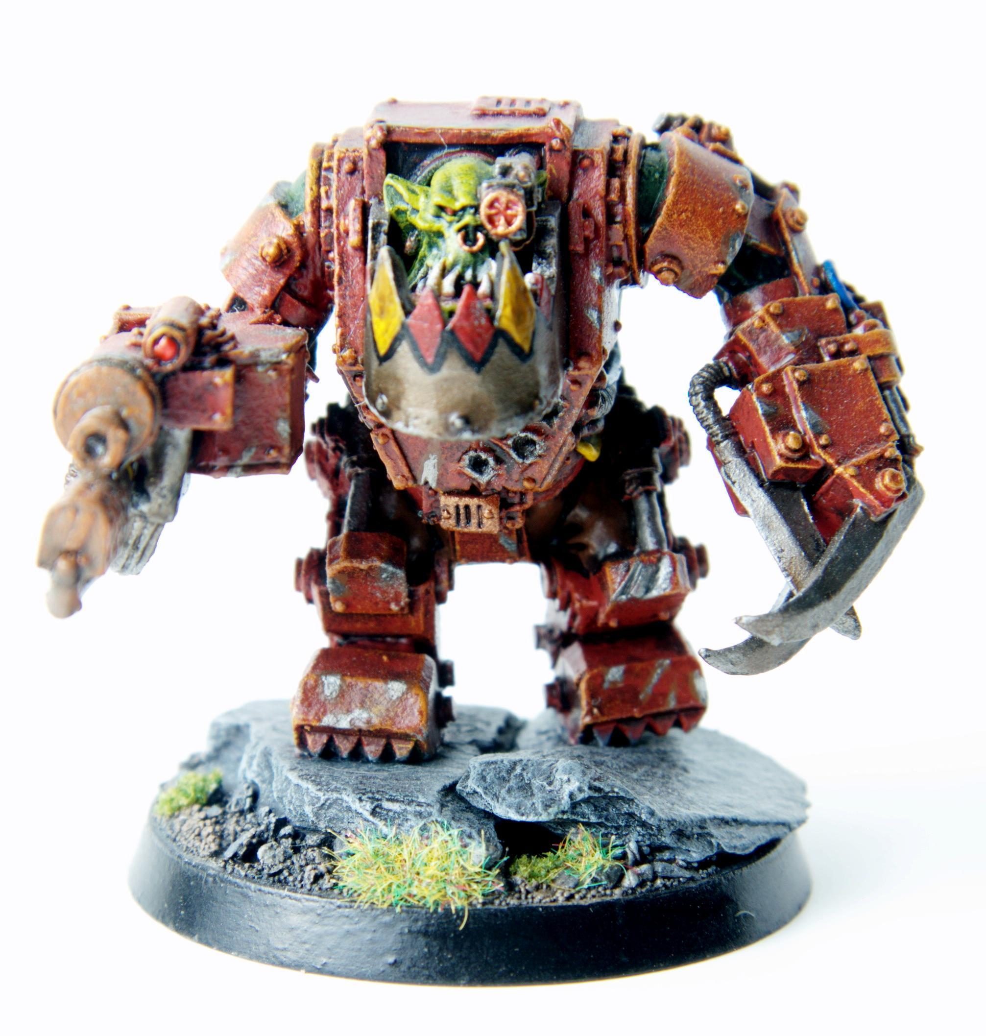 Armor, Mega, Meganob, Nob, Orks, Red