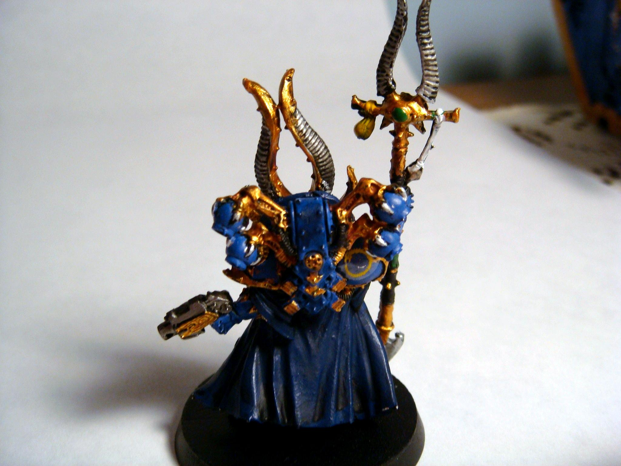 Ahriman, Chaos, Chaos Space Marines, Sorcerer, Thousand Sons