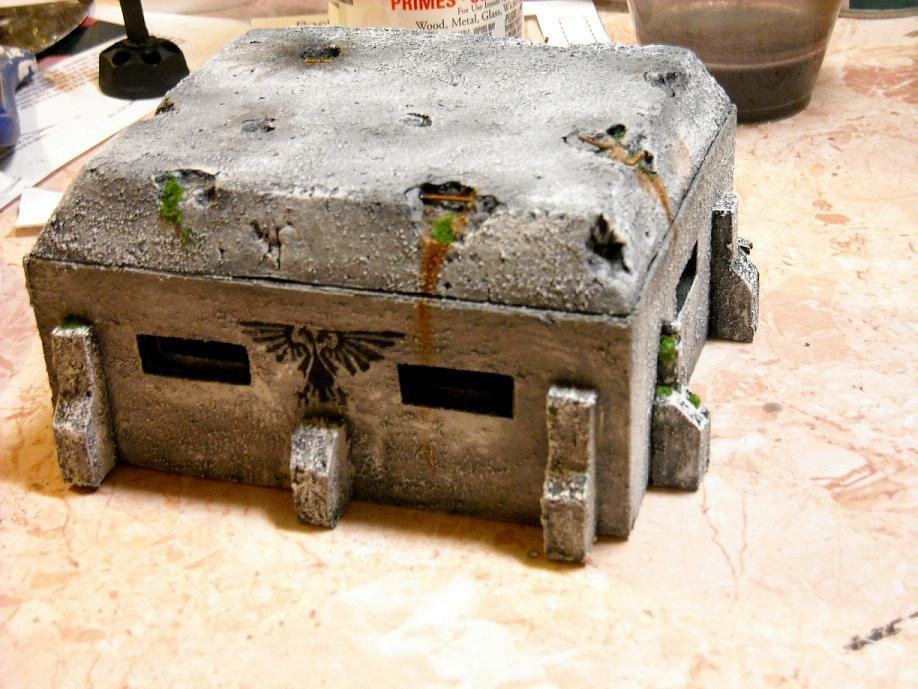 Bunker, Space Marines, Terrain