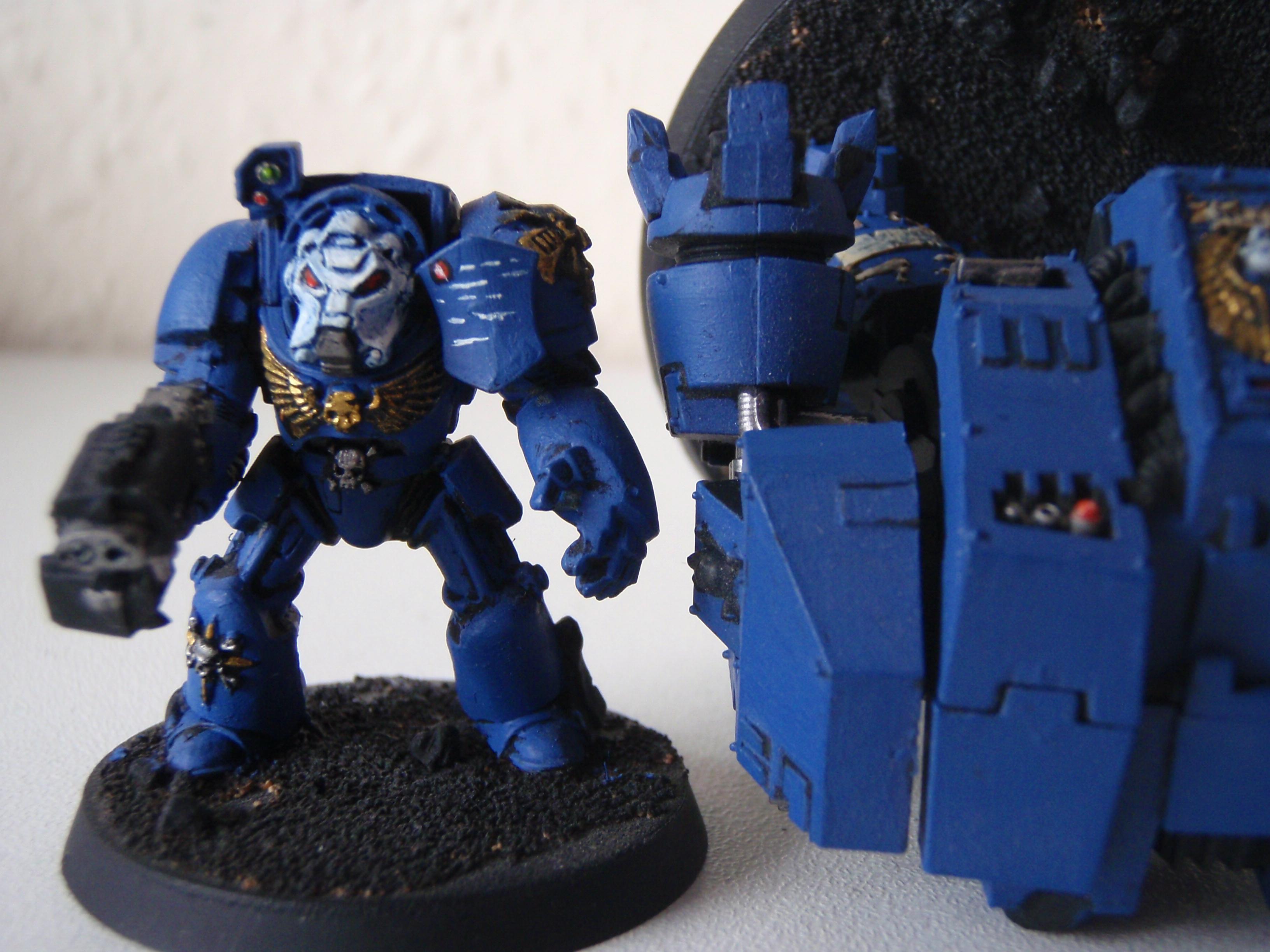 Dreadnought Terminator Comparison 1