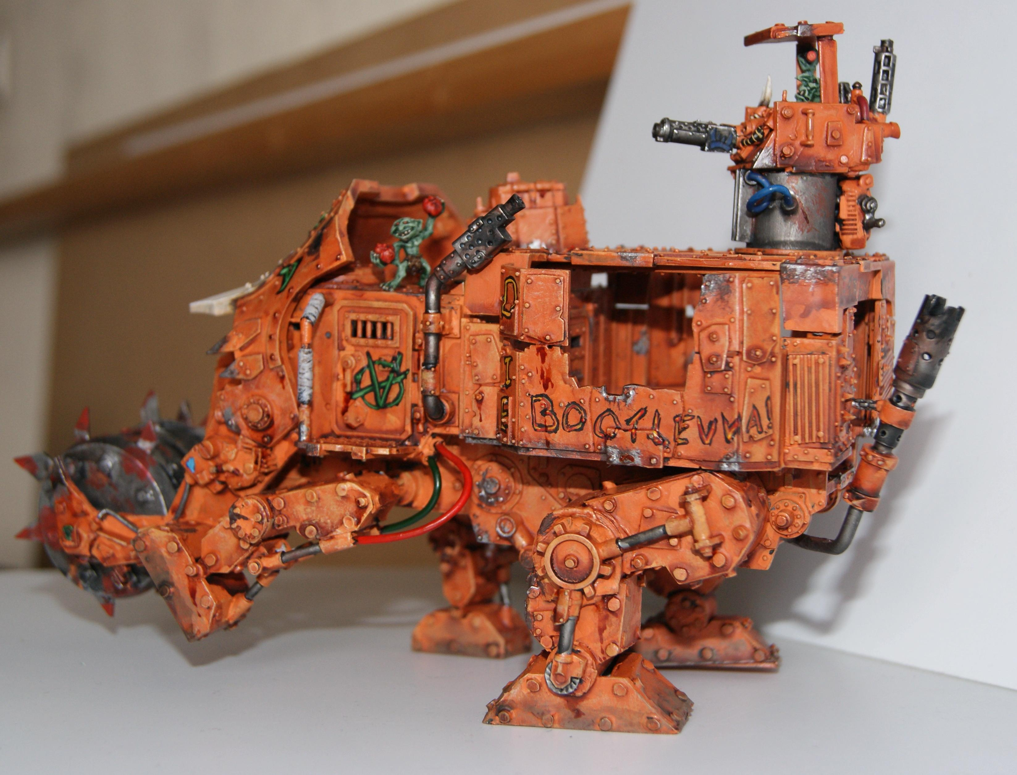 Battlewagon, Conversion, Grot Rebellion, Grot Rebels, Grots, Warhammer 40,000