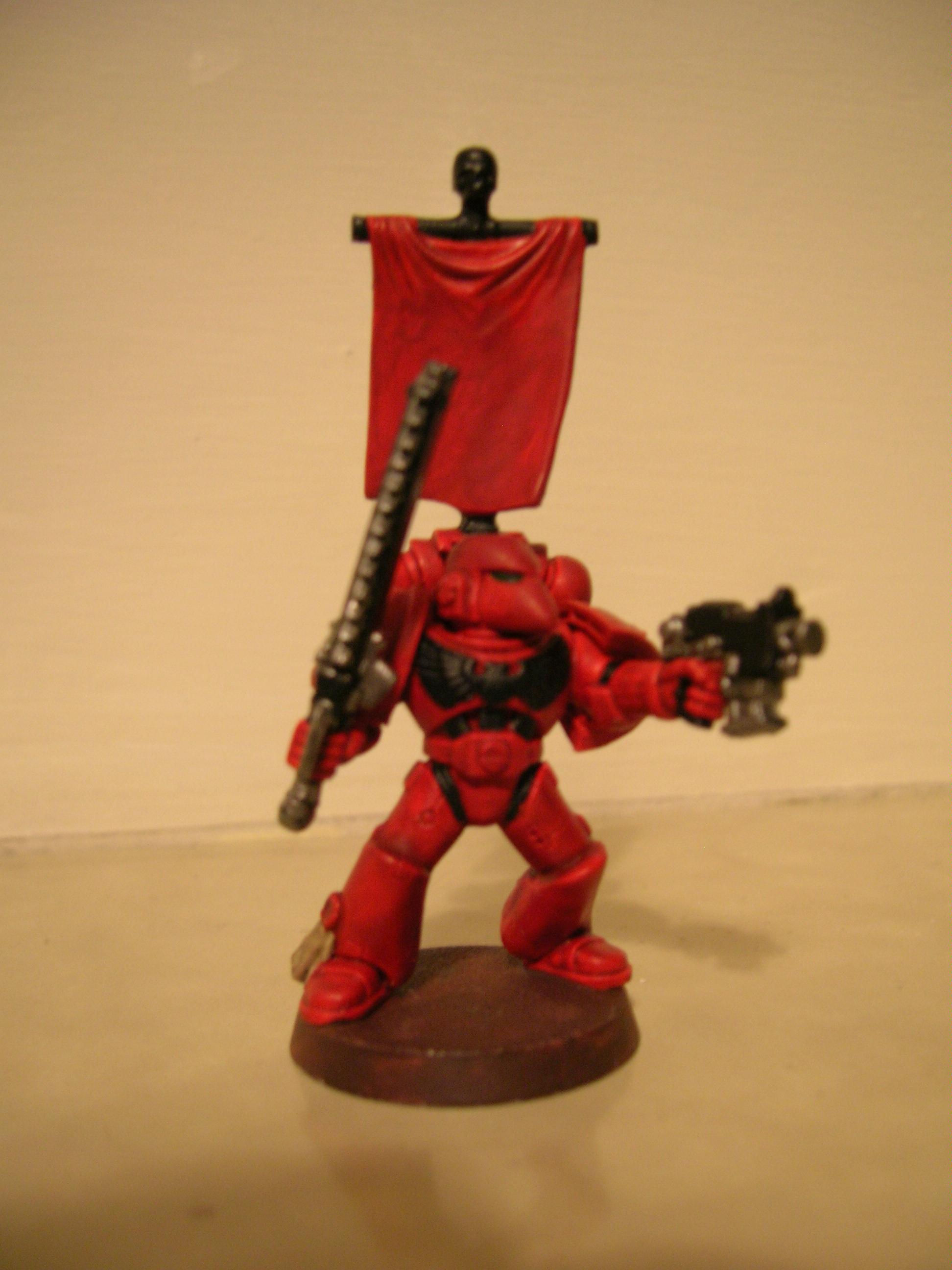 Space Marines, Less blurry pic!