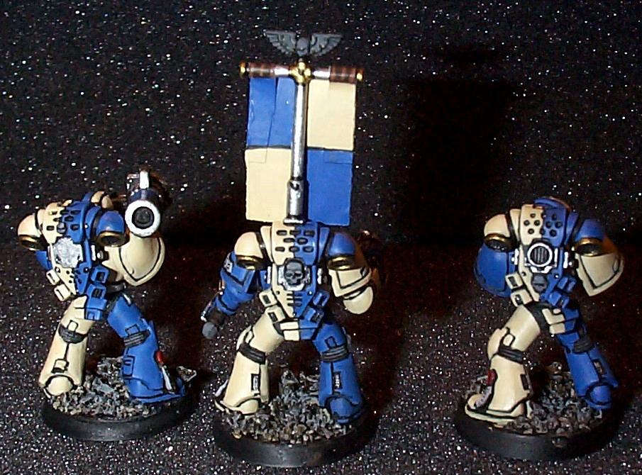 Novamarines, Space Marines