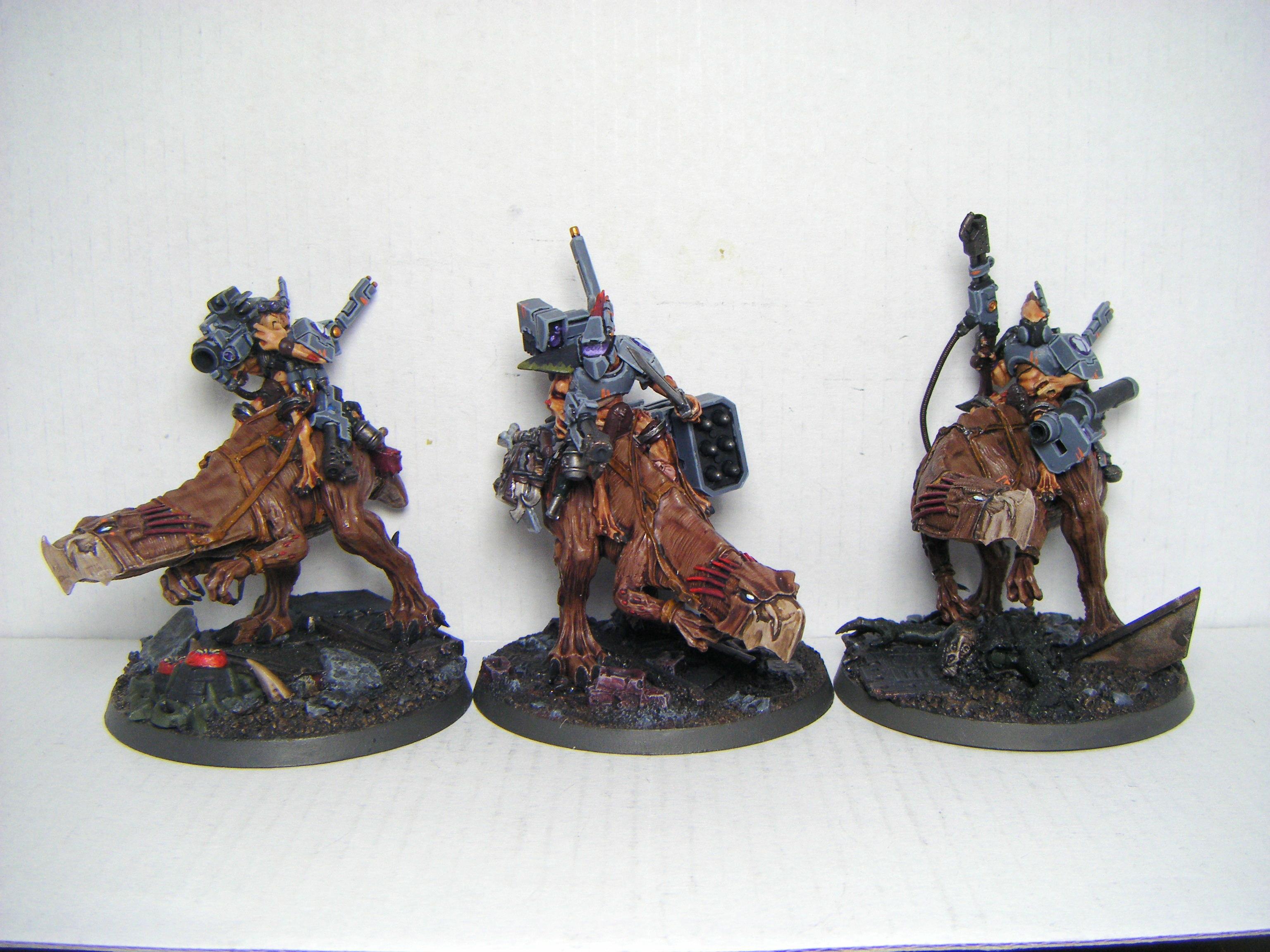 Knarloc Riders, Kroot, Tau, Warhammer 40,000