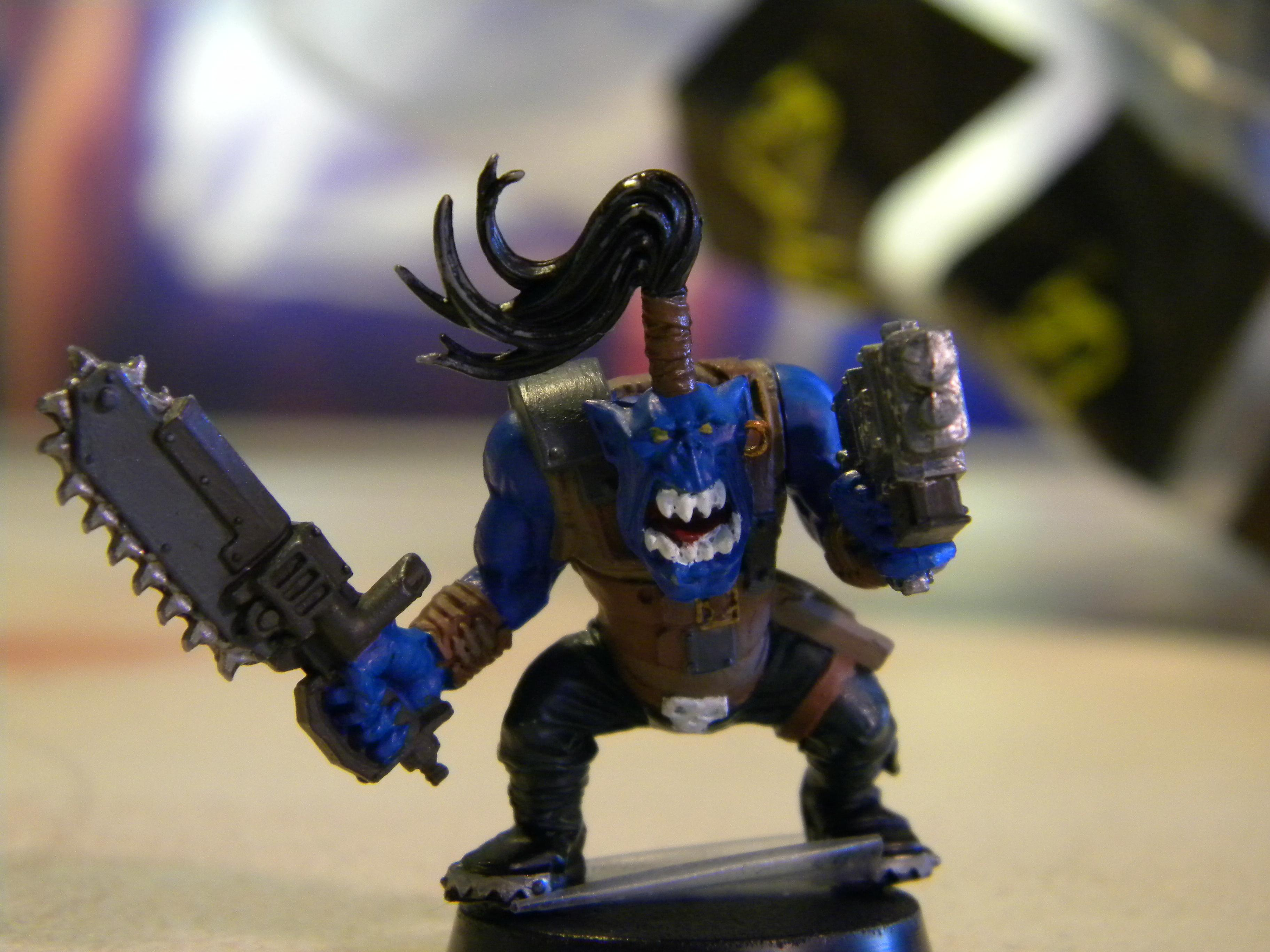 enchanted blue ork