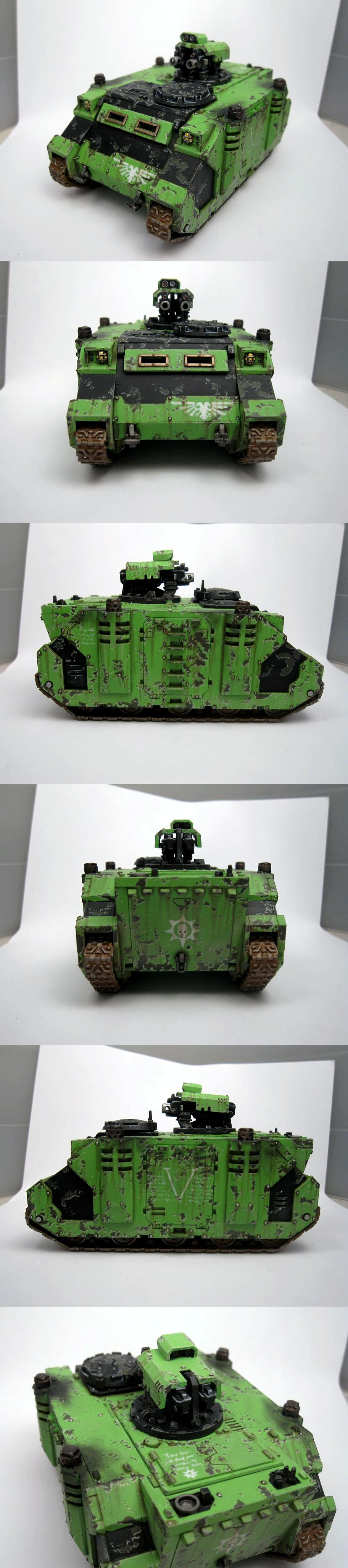 Armor, Badab War, Razorback, Space Marines, Transport, Vehicle, Warhammer 40,000, Weathered