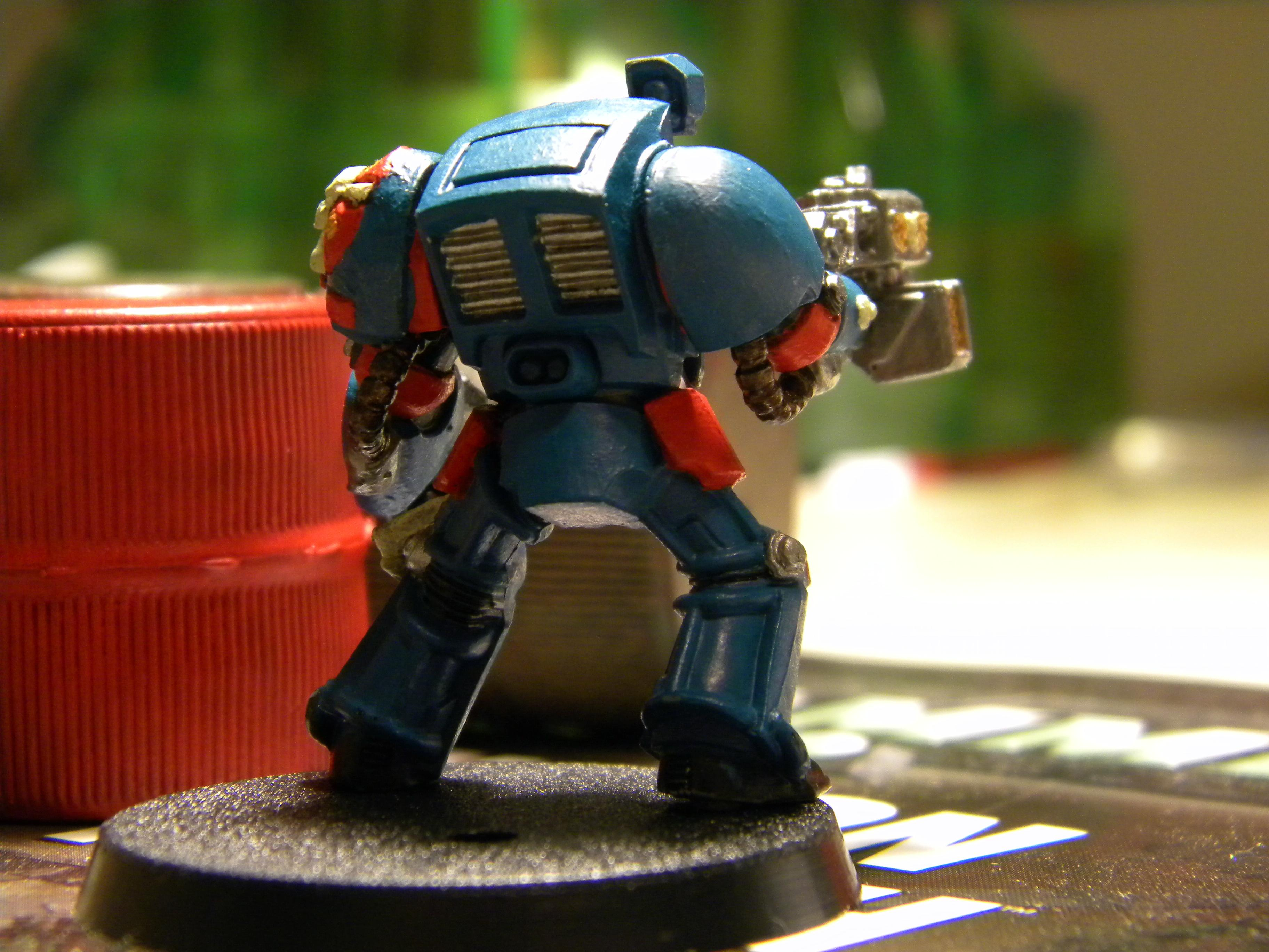 Space Marines, termie back