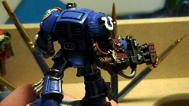 Space Marines, Terminator Armor, Ultramarines