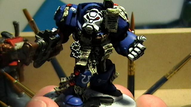 Space Marines, Terminator Armor, Ultramarines