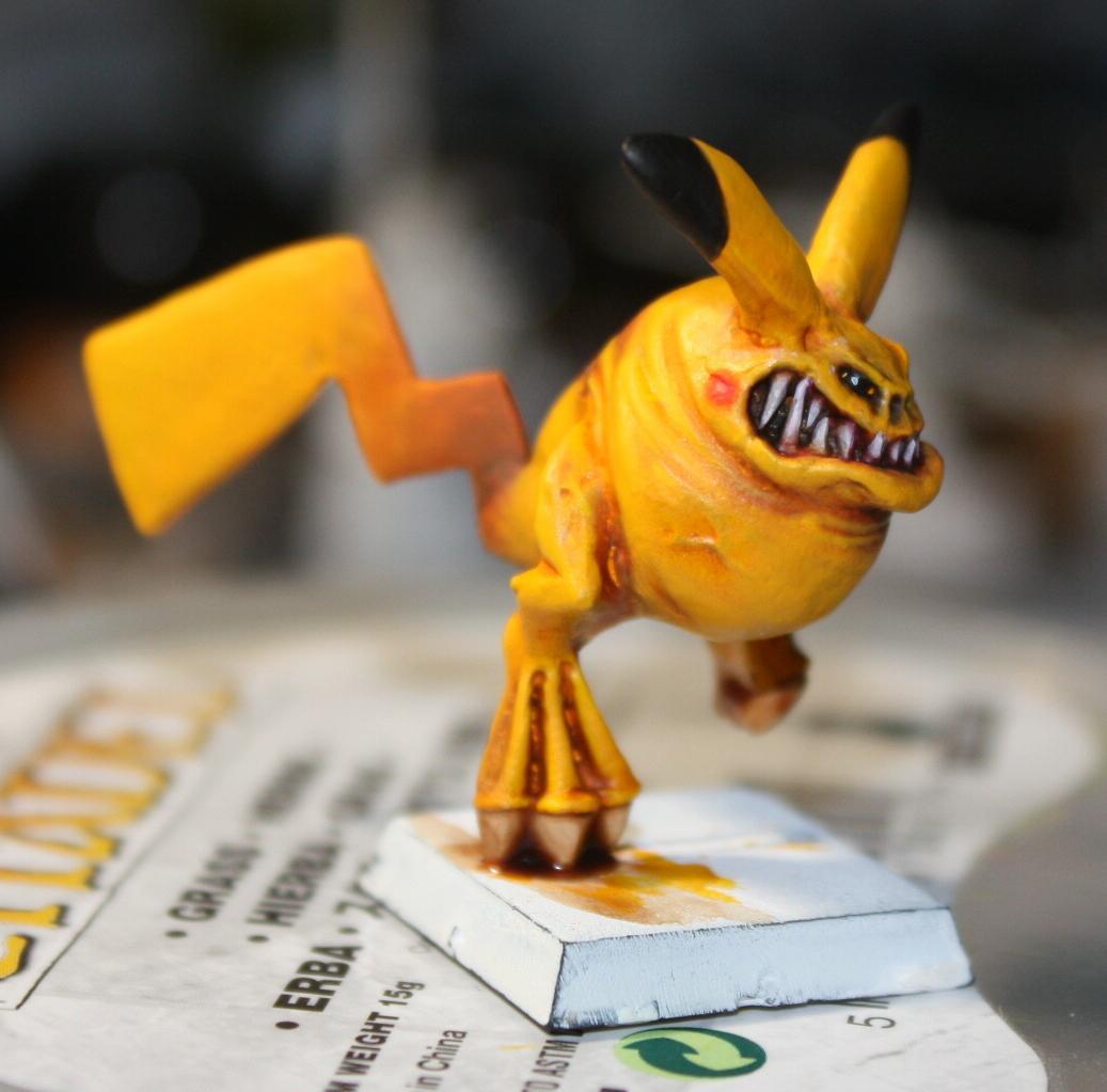 Conversion, Pikachu, Pokemon, Squigs