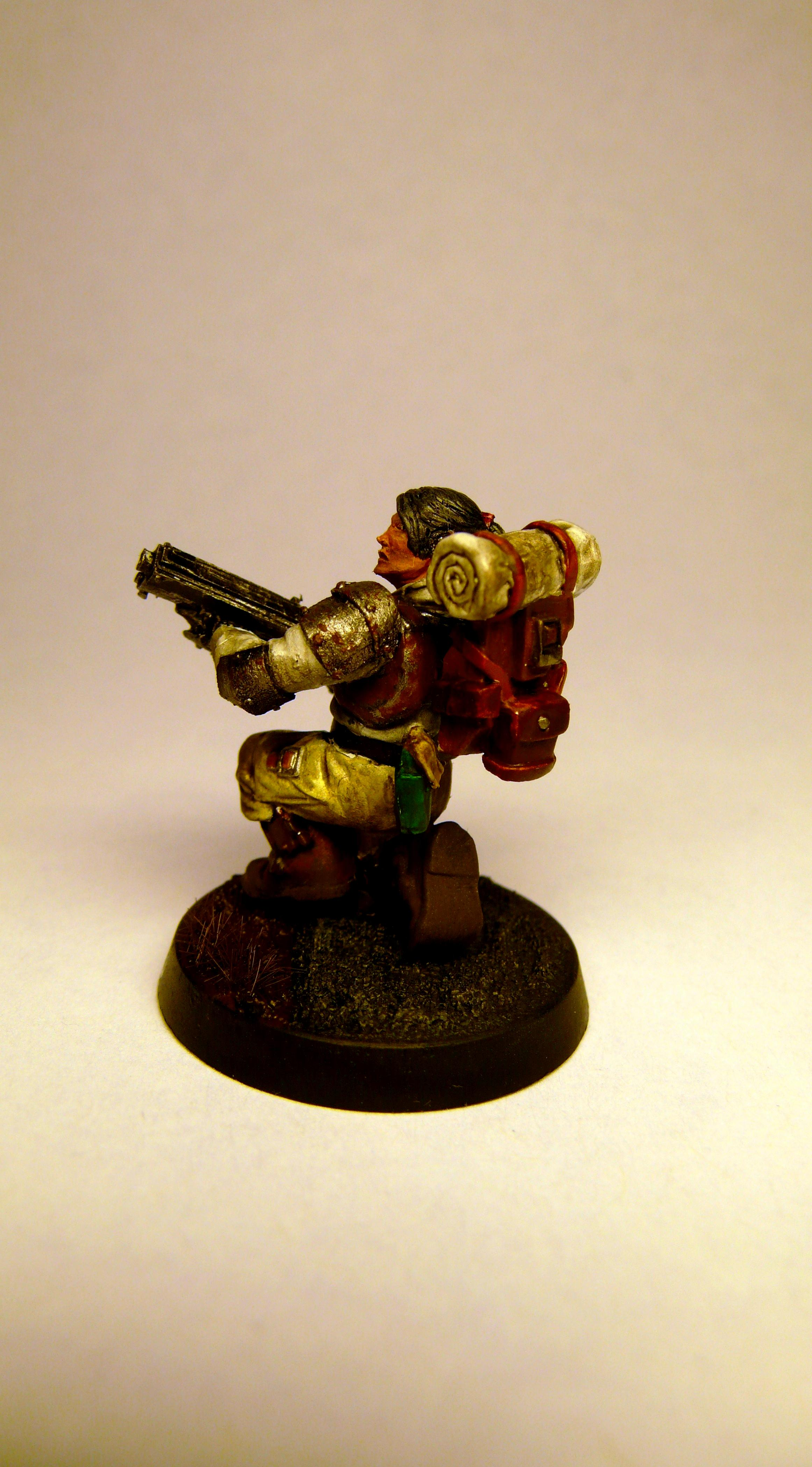 Imperial Guard, Shotgun, Veteran, Warhammer 40,000
