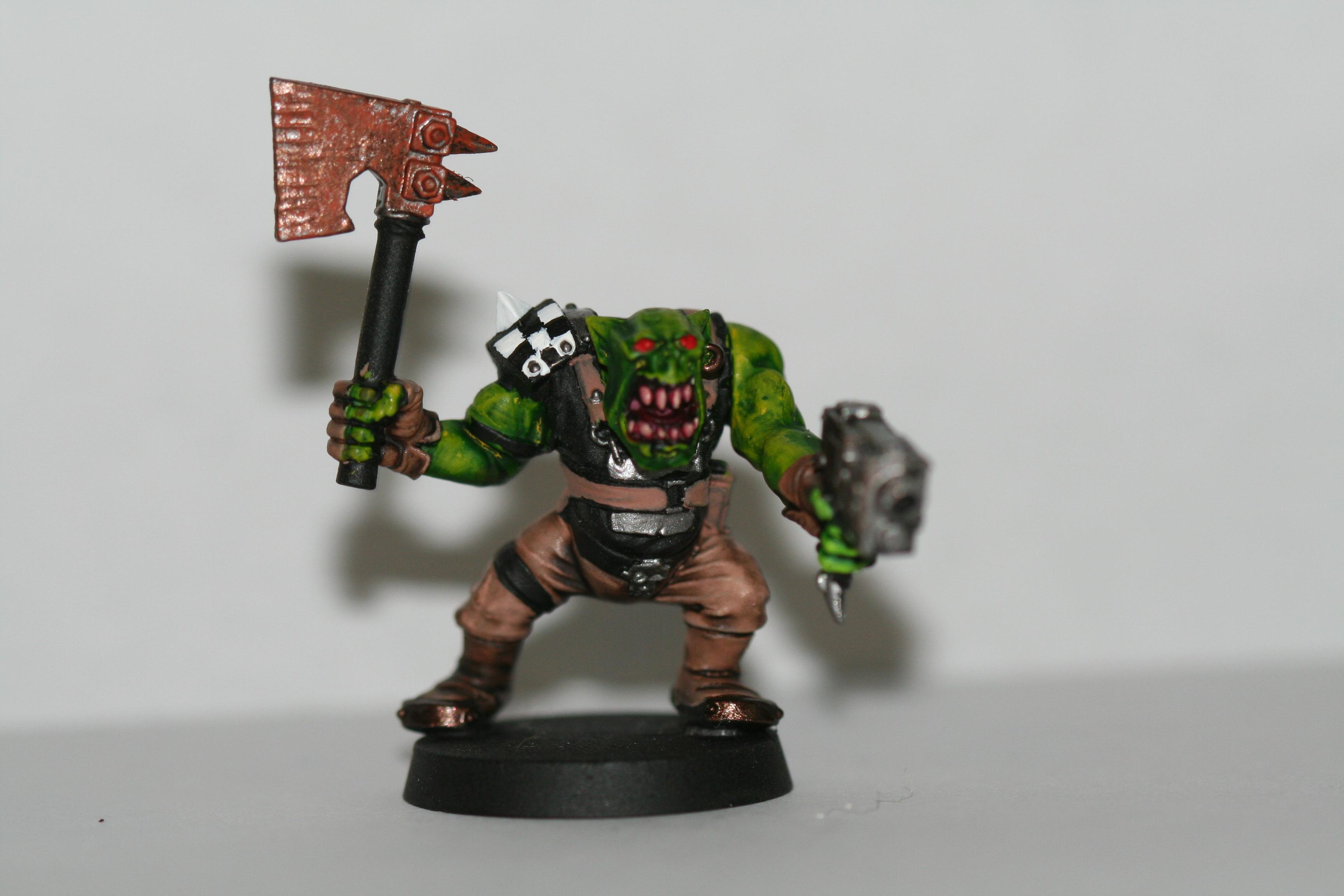 Unfinished Ork boy