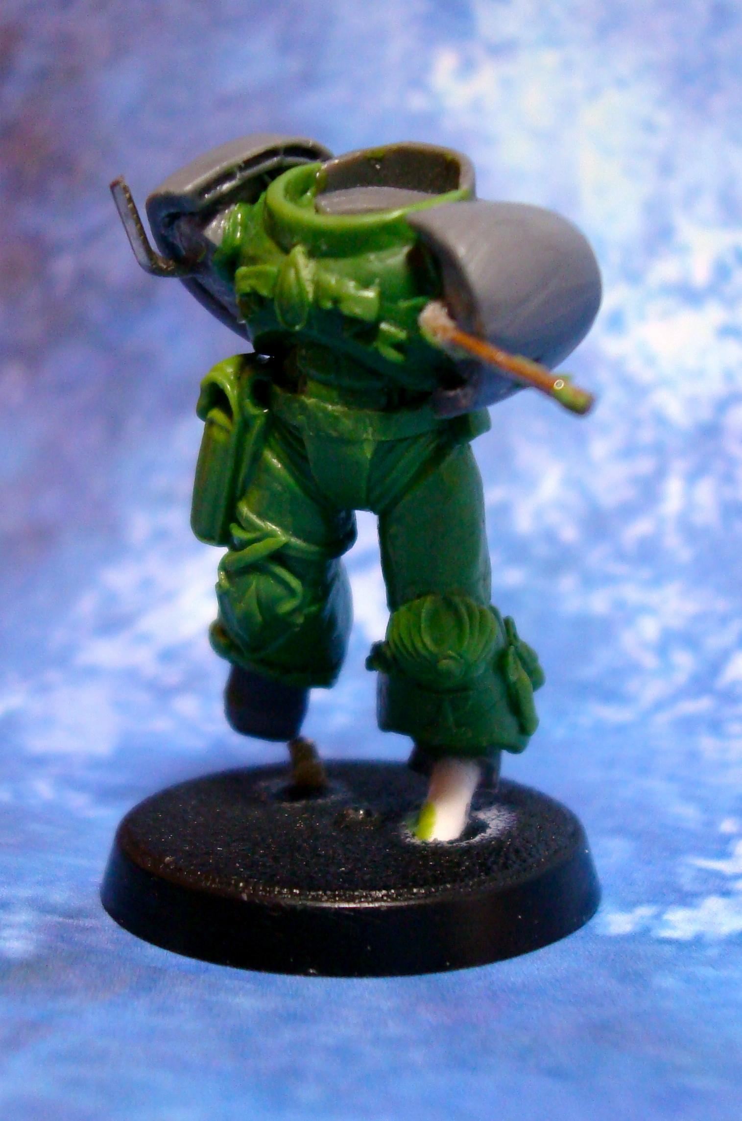 Blood Angels, Greenstuff, Scratch Build, Space Marines, Work In Progress
