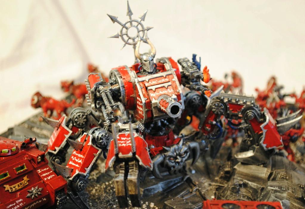 Chaos, Chaos Space Marines, Defiler, Word Bearers