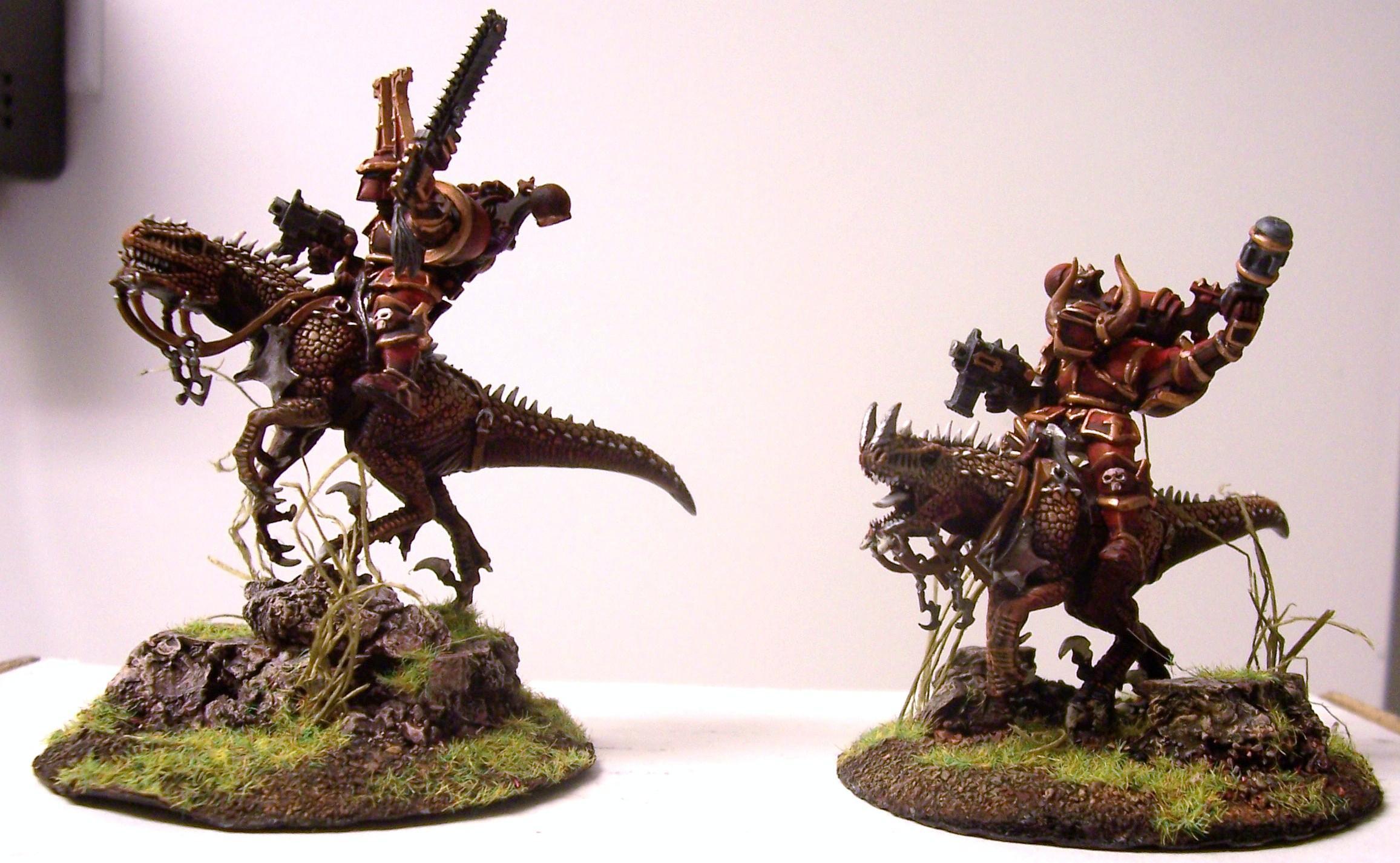 Chaos, Cold Ones, Khorne, Thunder Wolves, Warhammer 40,000