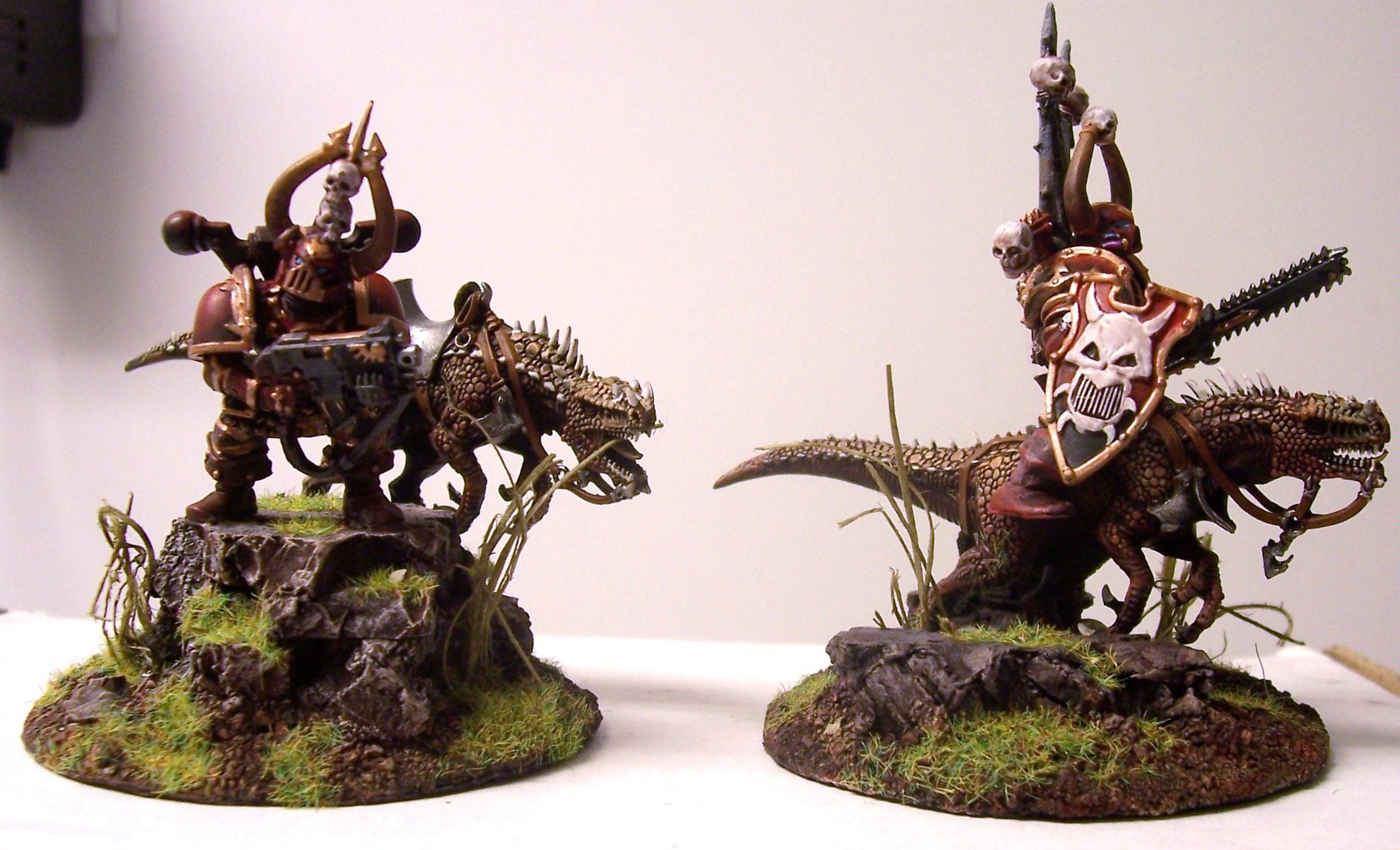 Chaos, Khorne, Thunder Wolves