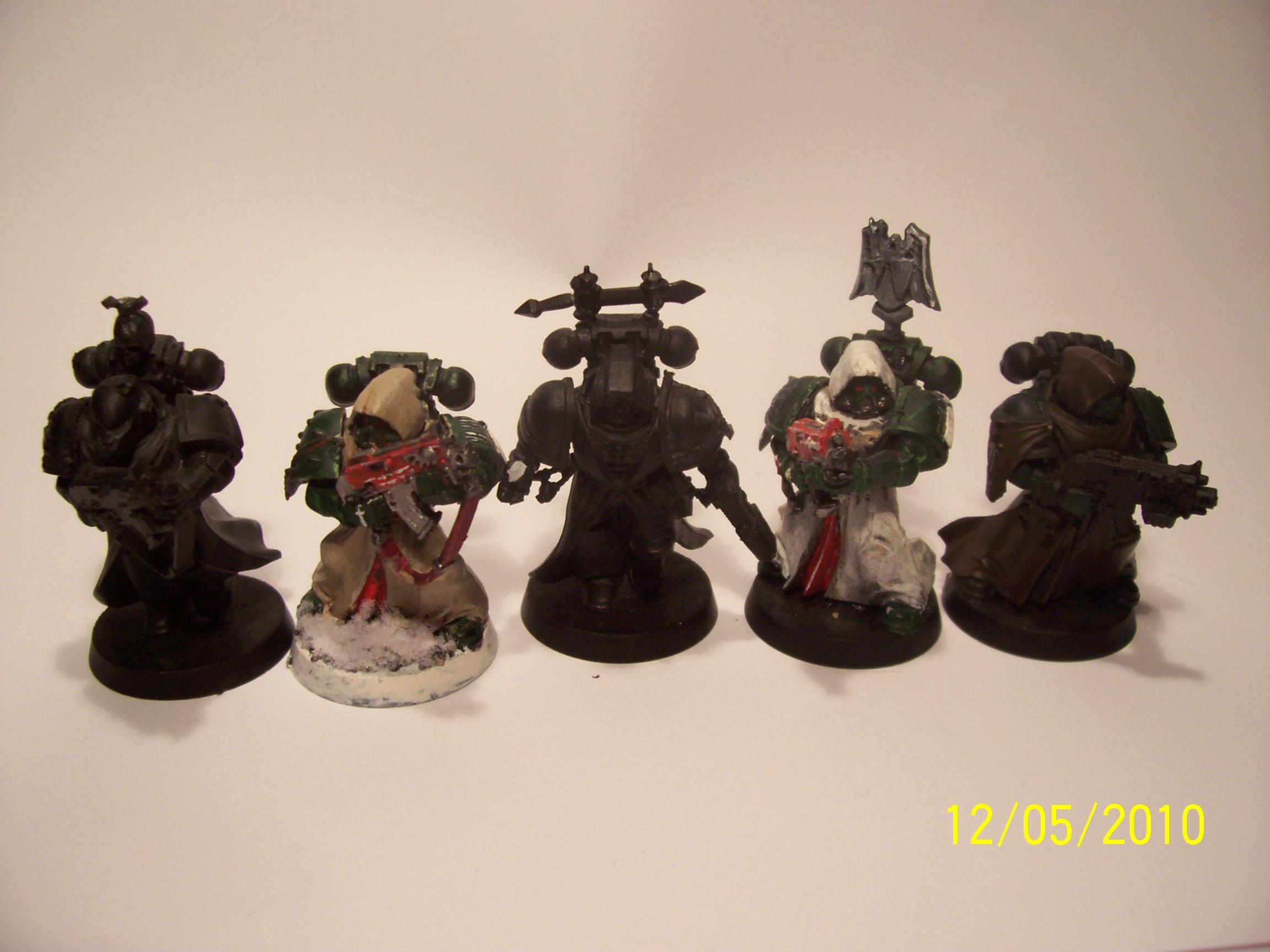 Angel, Command, Dark, Robe, Space, Space Marines, Veteran