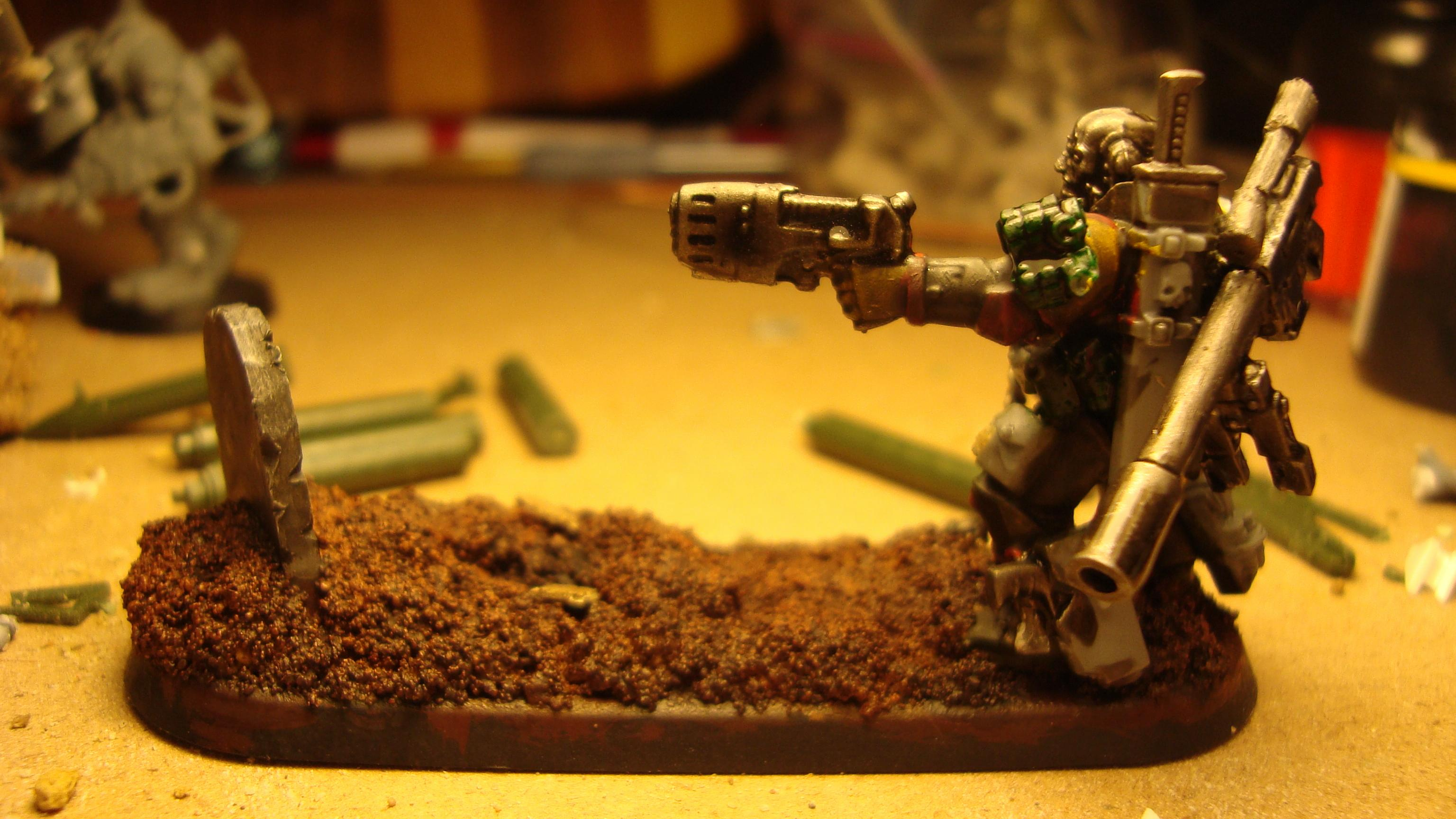 Imperial Guard, Warhammer 40,000, Work In Progress
