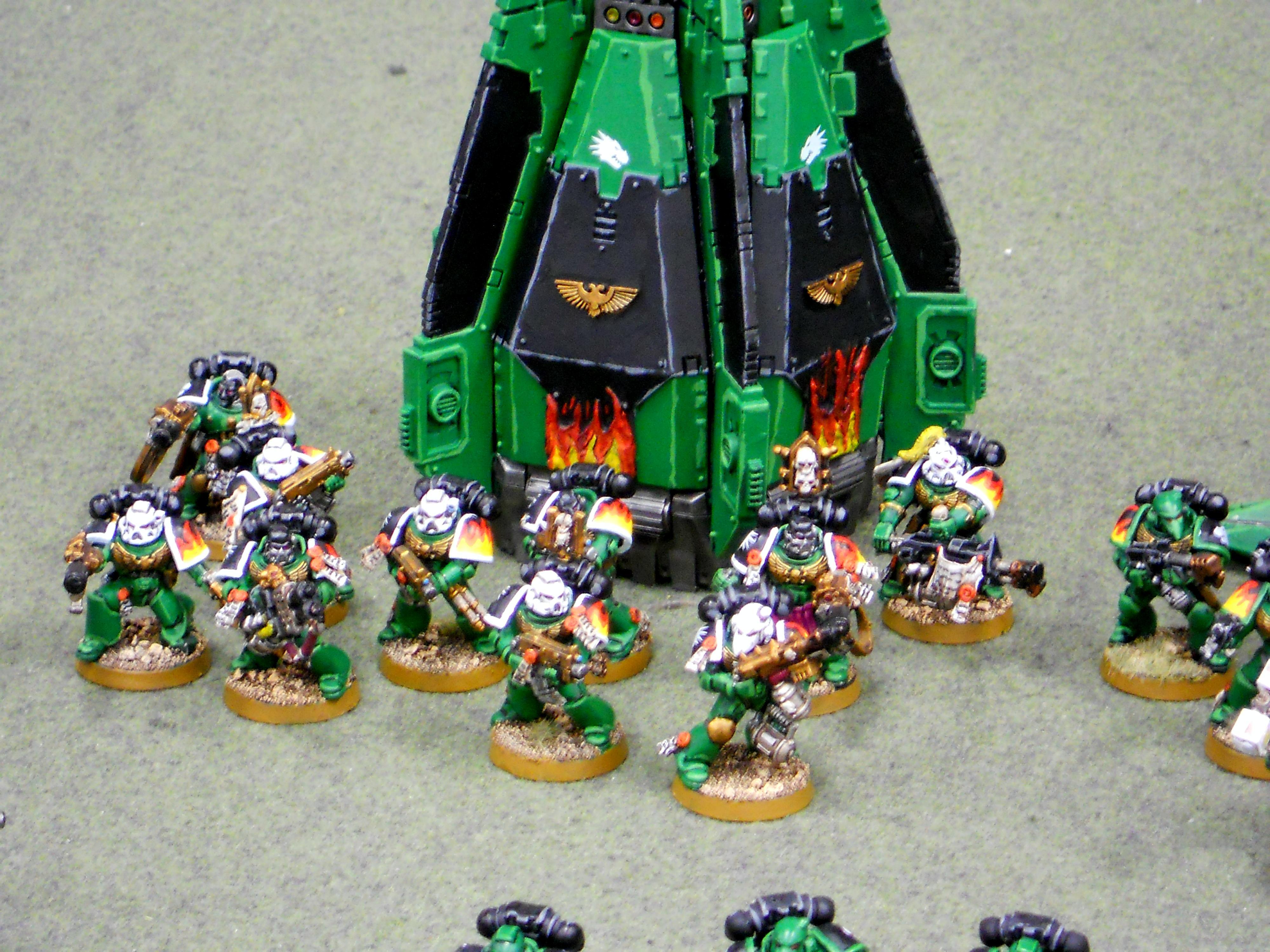 Burn, Cool, Salamanders, Space Marines, Warhammer 40,000