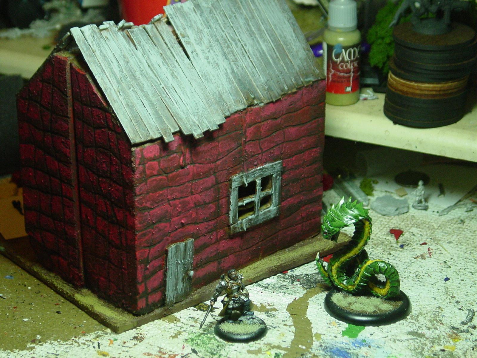 House, Red, Snake, Warhammer Fantasy, Warriors