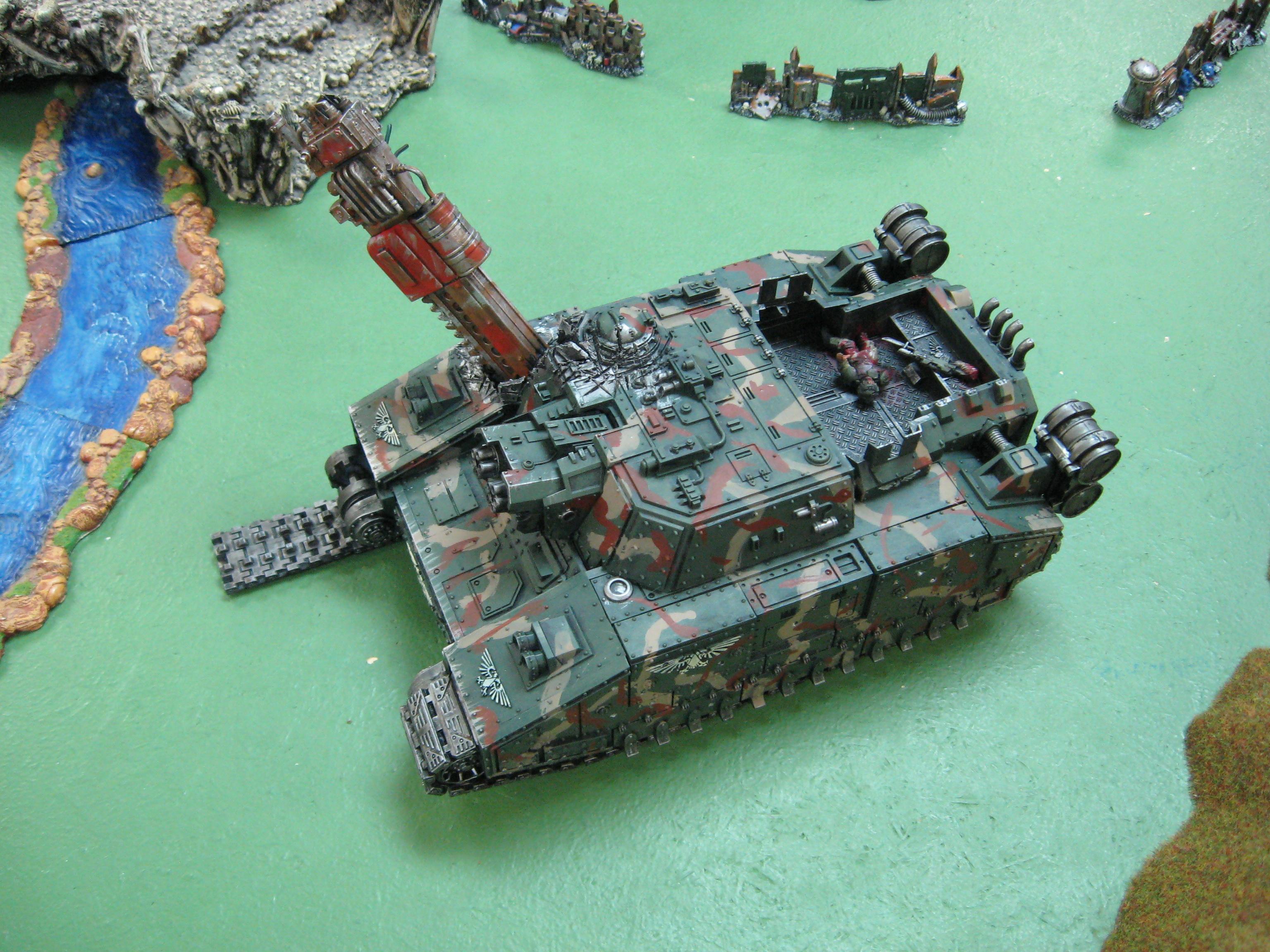 Baneblade, Destroyed, Super-heavy, Tank