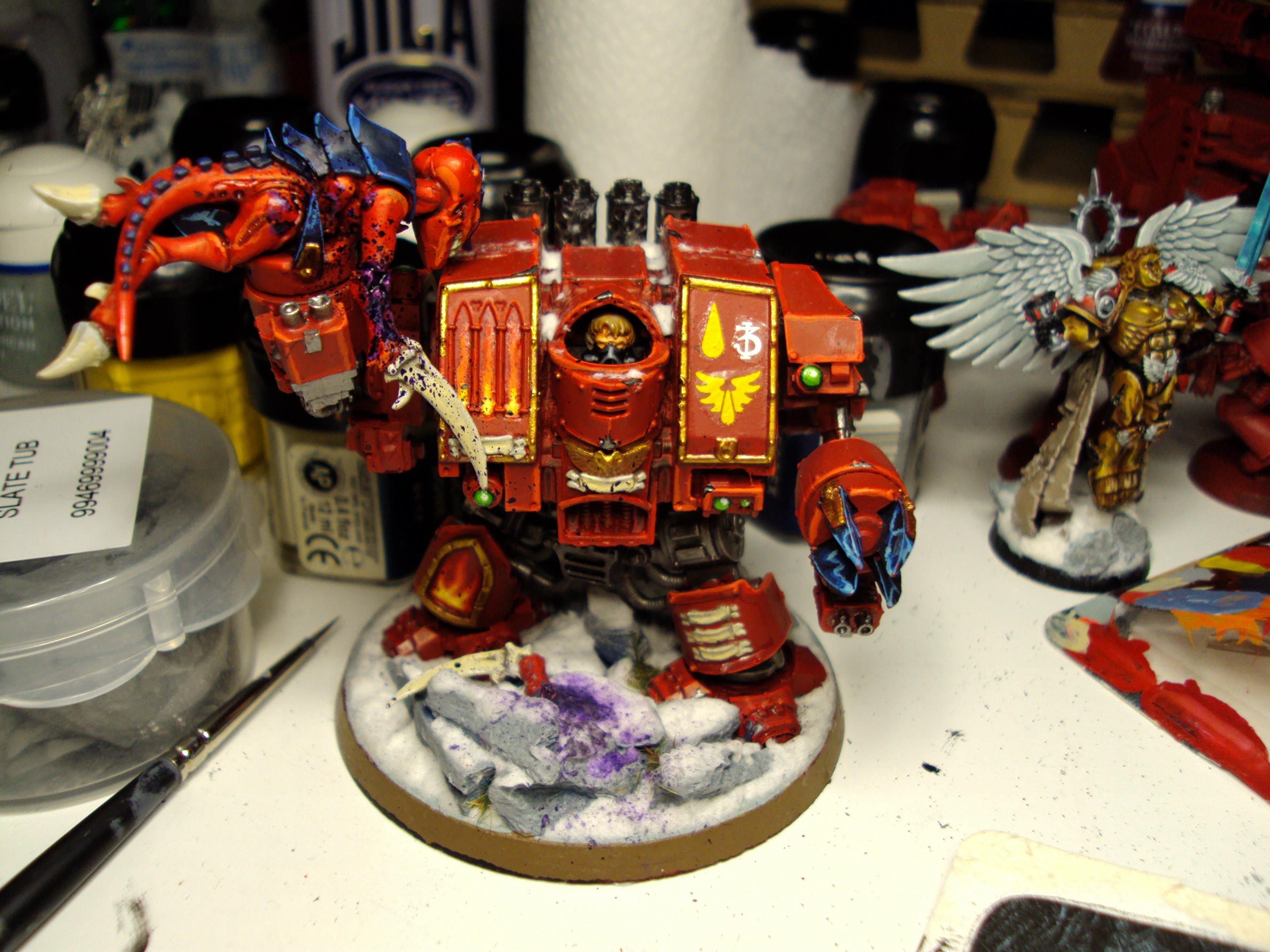 Blood, Blood Angels, Dreadnought, Furioso, Space Marines, Warhammer 40,000
