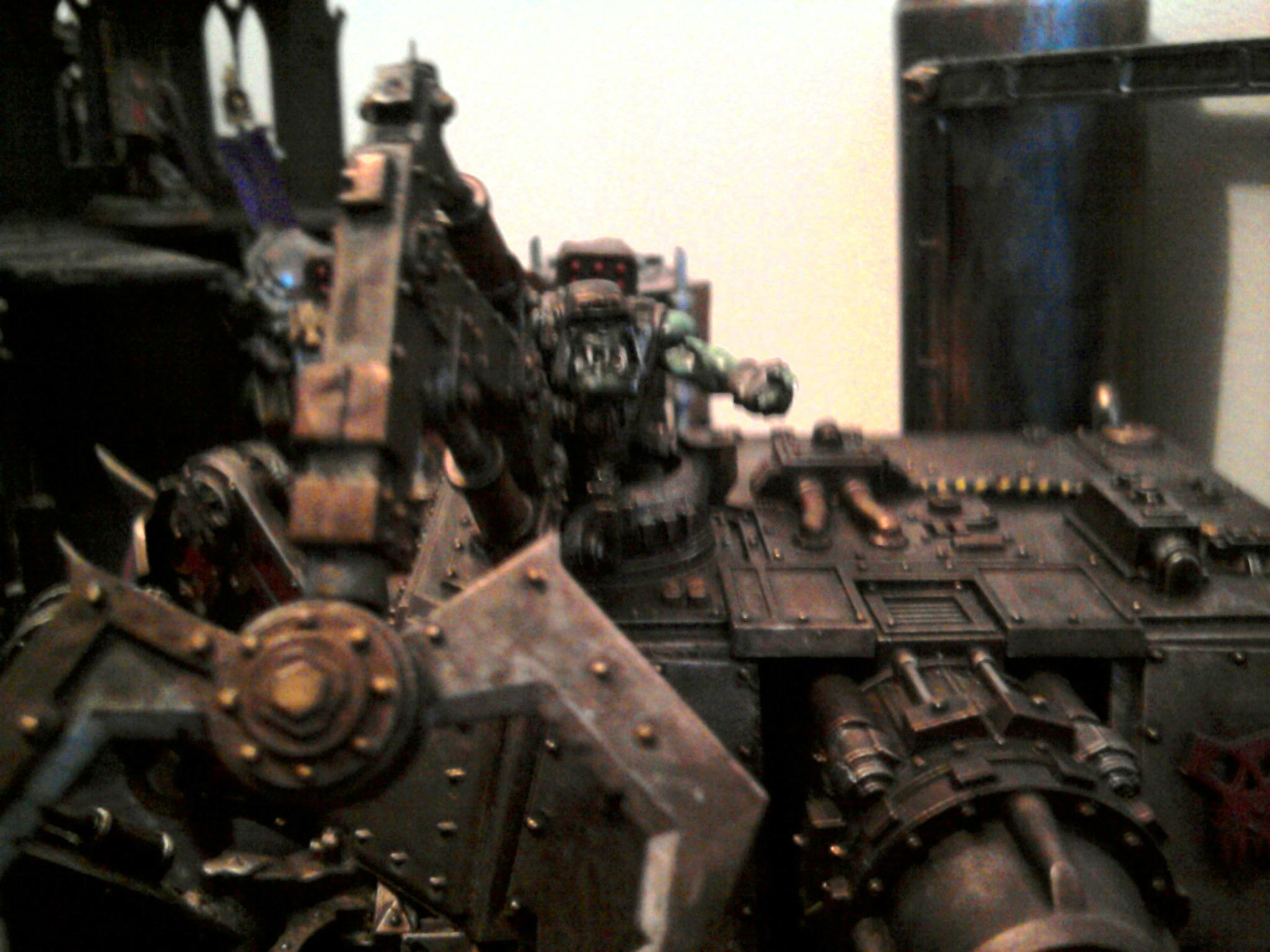 Apocalypse, Baneblade, Chaos, Conversion, Defiler, Noel, Orks, Progress, Shadowsword, Stormlord, Volcano, Work