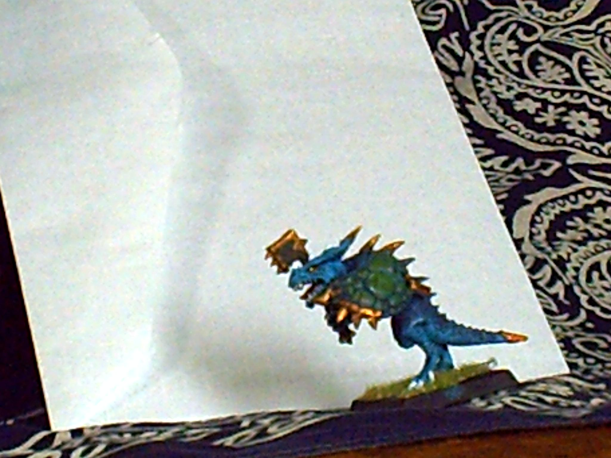 Blue, Lizard, Lizardmen