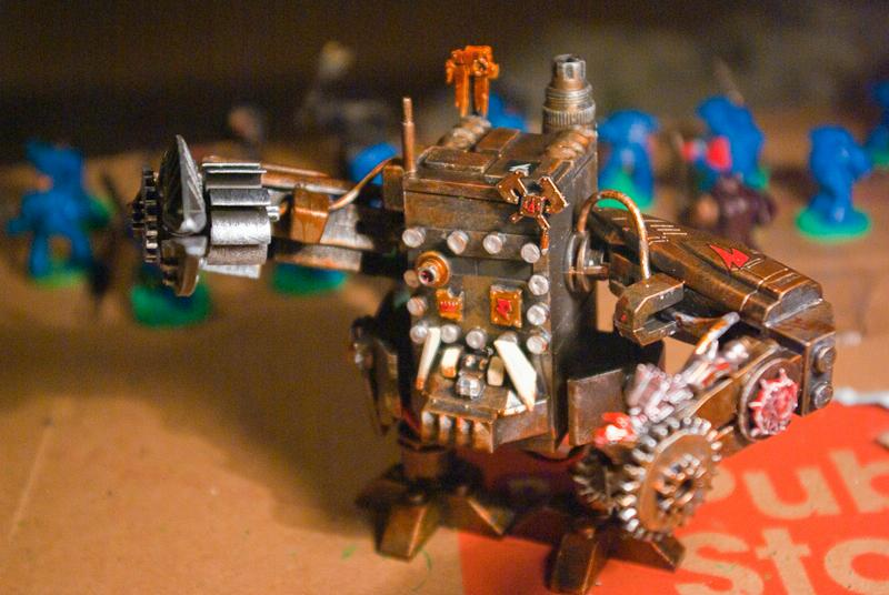 Deff Dread, Orks, Scratch Build