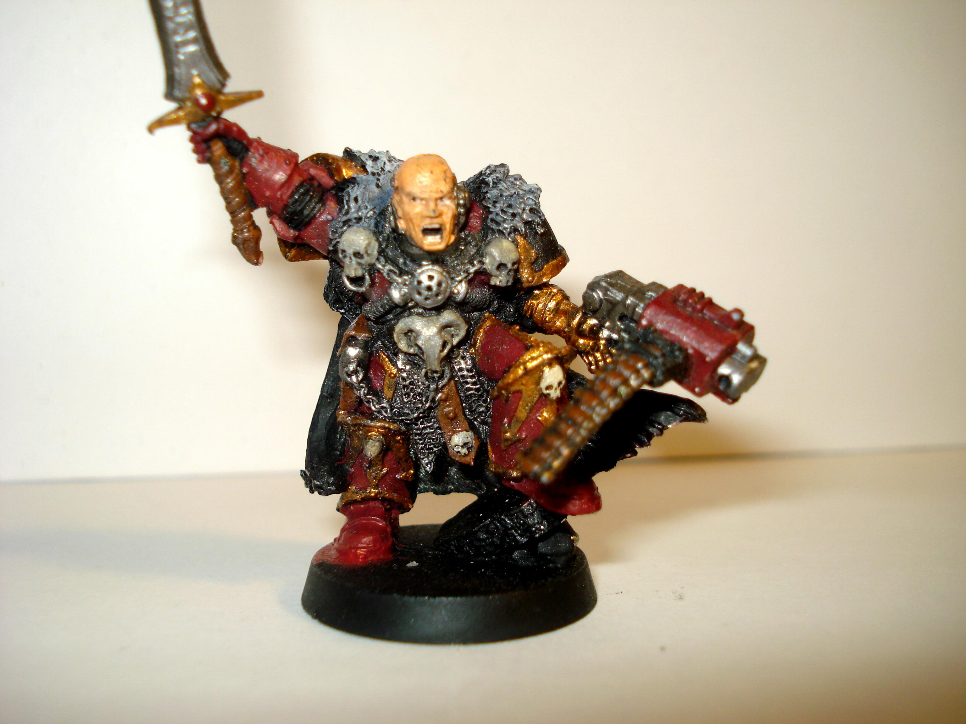 Chapter Master, Commander, Conversion, Relictors, Space Marines