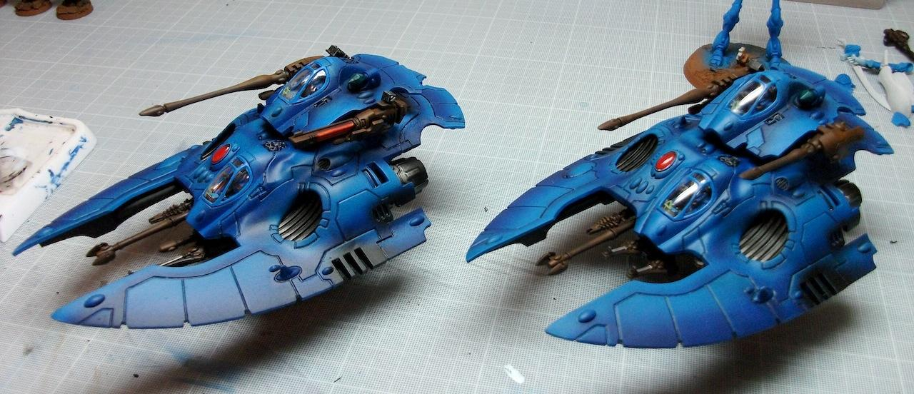 Airbrush, Airbrushed, Eldar, Spray, Spray Painted, Warhammer 40,000