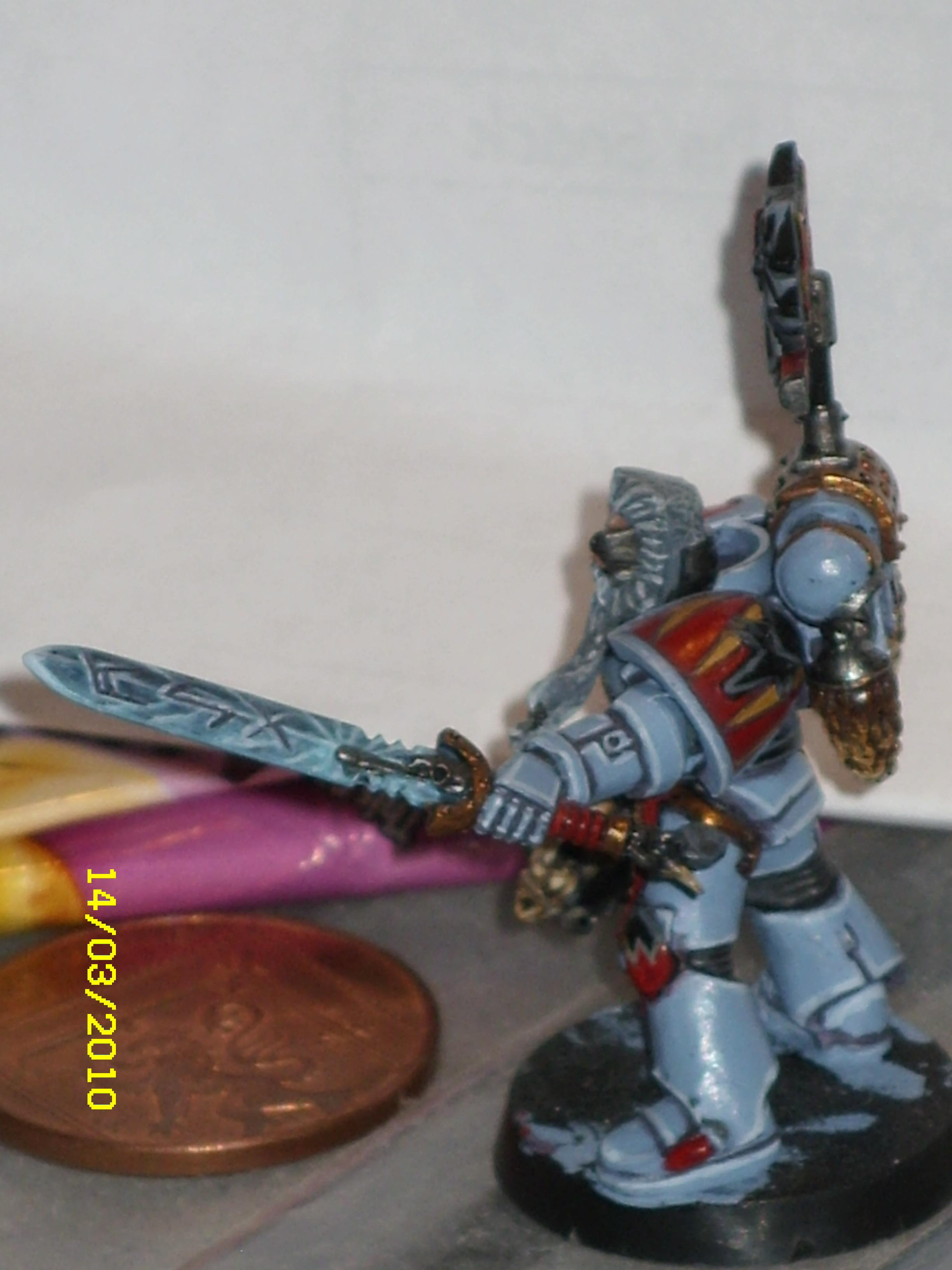 Space Wolves, Space Wolf with Power Sword 2