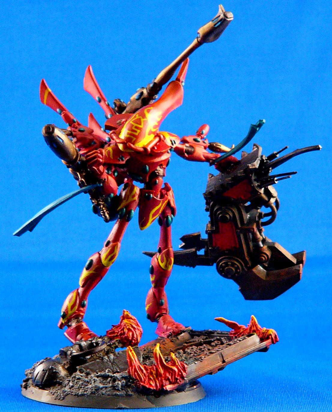 Aspect, Eldar, Fire Dragon, Wraithlord