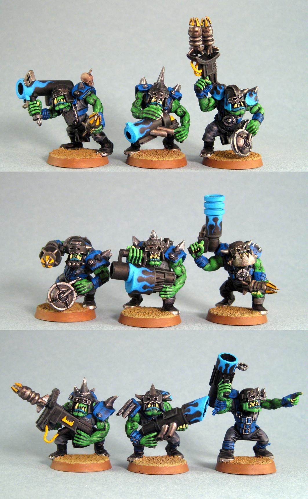 Conversion, Orks, Tankbustas