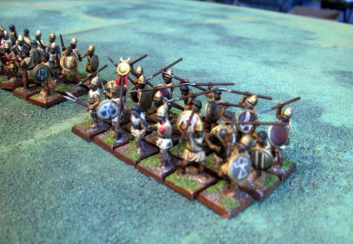Dipped, Numidian Light Infantry, Speed Painted, Wargames Factory, Warhammer Ancient Battles